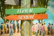 Schild 313 - Ferien