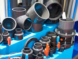 PVC fittings for sewer system - 194176264