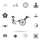 Rickshaw icon. Set of Chinese culture icons. Web Icons Premium quality graphic design. Signs and symbols collection, simple icons for websites, web design, mobile app