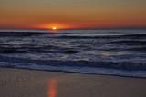 Sunrise over the Atlantic Ocean at Kure Beach, North Carolina - 194192648