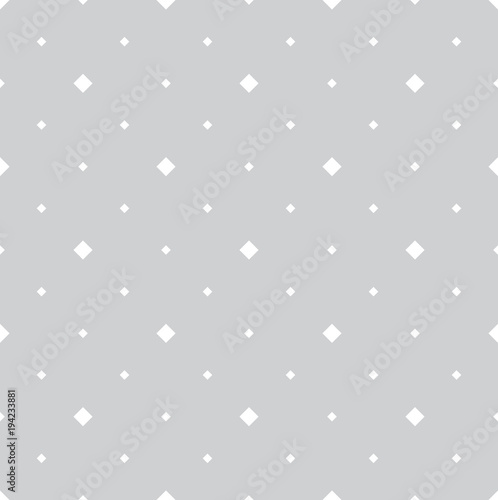 Abstract geometric pattern. A seamless vector background. White and grey ornament. Graphic modern pattern