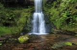 Two tier waterfall, Blaen-y-glyn, Wales