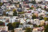 Houses on Twin Peaks Neighborhood, San Francisco, California, USA