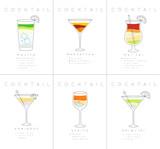Poster cocktails Mojito - 194274878