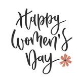 Womens day hand written inscription - 194275845