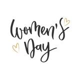 Womens day hand written inscription - 194275857