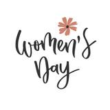 Womens day hand written inscription - 194275875