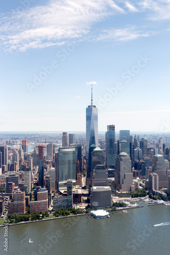 Poster New York High resolution view of New york city - United states of America
