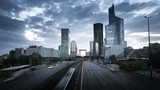 timelapse, Paris LaDefense at sunset - 194302400