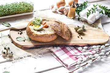 żurek w chlebie © Agata