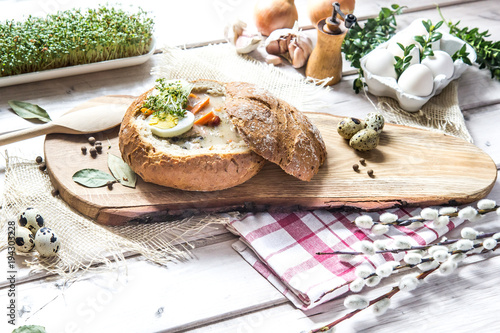żurek w chlebie - 194303228