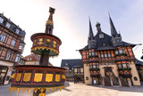 historic town hall wernigerode germany