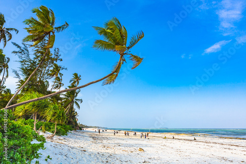 Matemwe beach, Zanzibar. Tanzania.