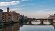 Quadro Firenze, panorama da Ponte Vecchio