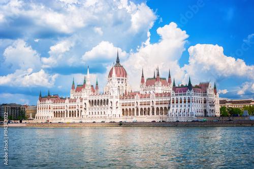 Fotobehang Boedapest Parliament Budapest Hungary