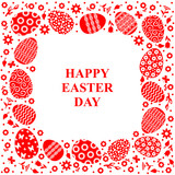 Easter decorative card - 194348675