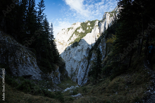 Fotobehang Nachtblauw Mountain