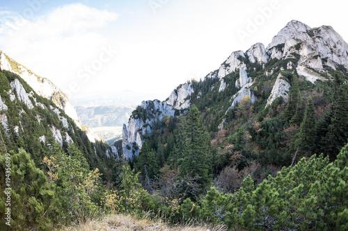 Plexiglas Khaki Mountain