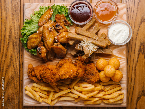 food, chicken, meal, meat, fried, plate, dinner, dish, fish, cuisine, sauce, pork, delicious, lunch, breaded, salad, white, gourmet, tasty, snack, red, shrimp, potato, appetizer, beef