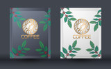 Coffee packaging vector design template, Vector illustration