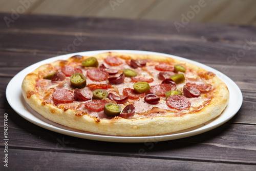Papiers peints Pizzeria tasty pizza