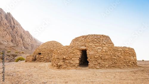 Foto op Canvas Abu Dhabi Jebel Hafeet Tombs in the UAE