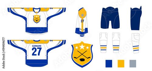 Hockey uniform - pattern cutting for sewing