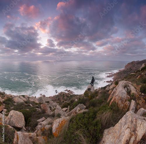 Foto op Canvas Lavendel Cape Roca