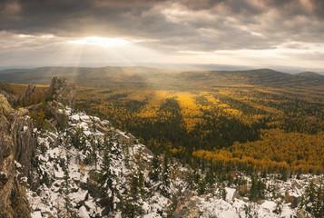 Taganay. South Ural. Russia.