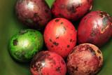 Colorful Speckled Easter Egg - 194410803