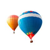 hot air balloon isolated - 194419652