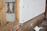 House rigid styrofoam insulation for energy saving - 194421209