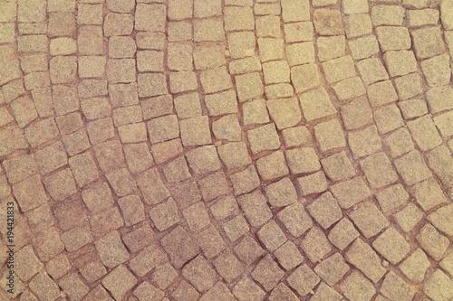 Foto op Canvas Stenen stone wall texture