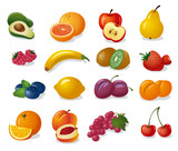 Fruits And Berries Wall Sticker