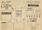 Coffee Menu Placemat - 194460063