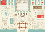 Coffee Menu Placemat - 194460099