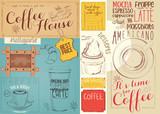 Coffee Menu Placemat - 194460240