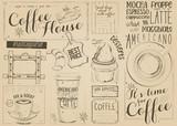 Coffee Menu Placemat - 194460293