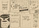 Coffee Menu Placemat - 194460409