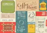 Coffee Menu Placemat - 194460465