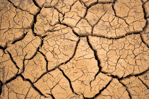Climate change and drought land,