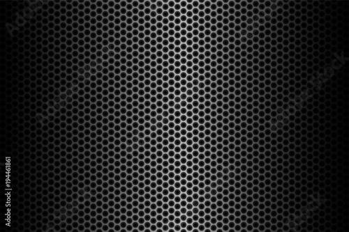 Dark carbon fiber background, stock vector illustration