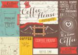 Coffee Menu Placemat - 194464284