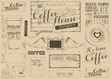 Coffee Menu Placemat - 194464478