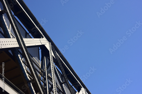 Foto op Canvas Spoorlijn Ponte ferroviario