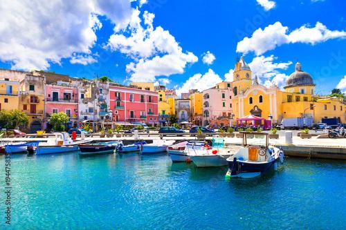 Plexiglas Freesurf Beautiful colorful island Procida. Campania, Italy