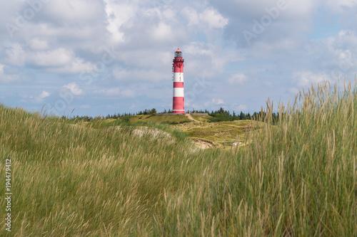 Fotobehang Noordzee Nordsee: Amrum → Leuchtturm I