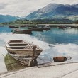Leinwanddruck Bild - Santa Croce del lago, Belluno