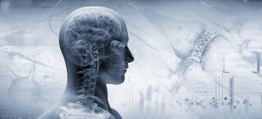 brain, thinking concept