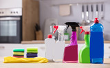 Close-up Of Cleaning Equipments - 194535483